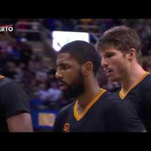 Kyrie Irving for Three   Pacers vs Cavaliers   February 15, 2017   2016 17 NBA Season #人気アイテム #トレンドアイテム #followme
