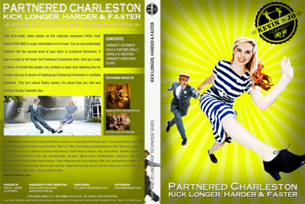 Kevin & Jo Charleston - Moves and Technique DVD