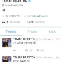 Tamar Braxton Tweets She Is Not Here For the Toni Braxton Movie Casting [Photo]