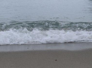 beach waves in Puerto Galera