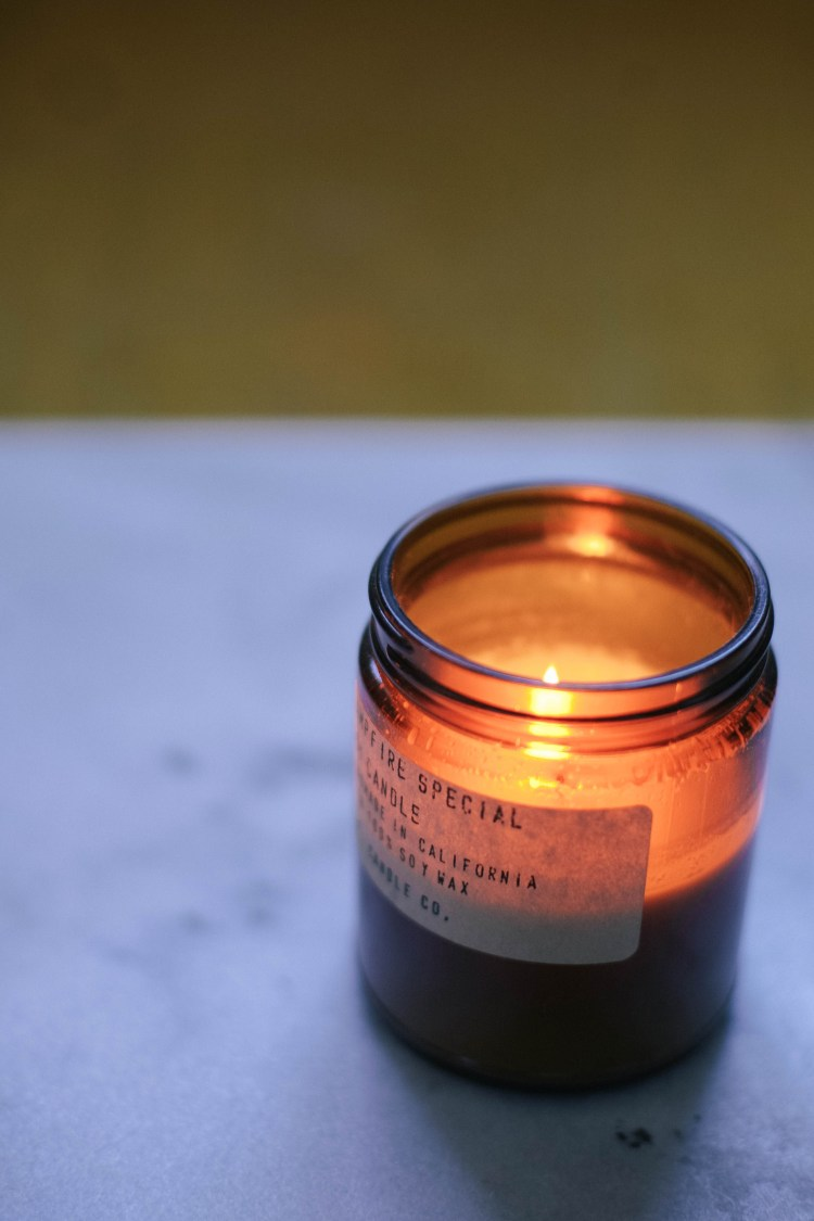 campire candle by p.f. candle co