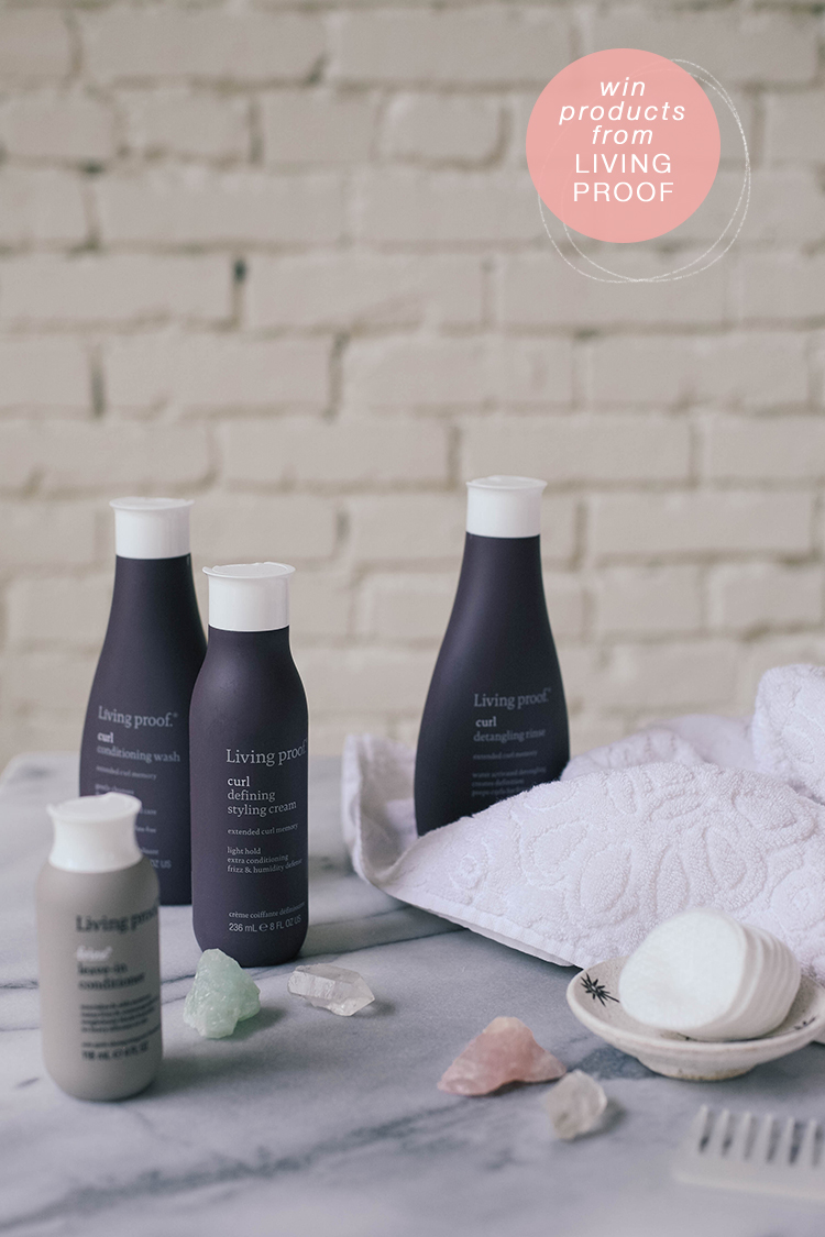a review of Living Proof's new curl product line + a giveaway // details here: www.jojotastic.com