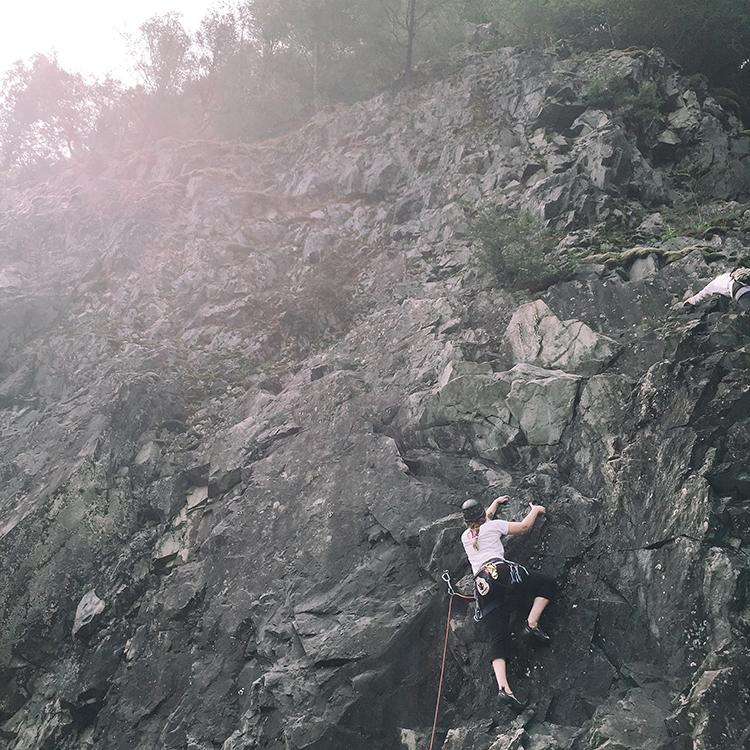 why I'm a rock climber jojotastic.com @jojotastic