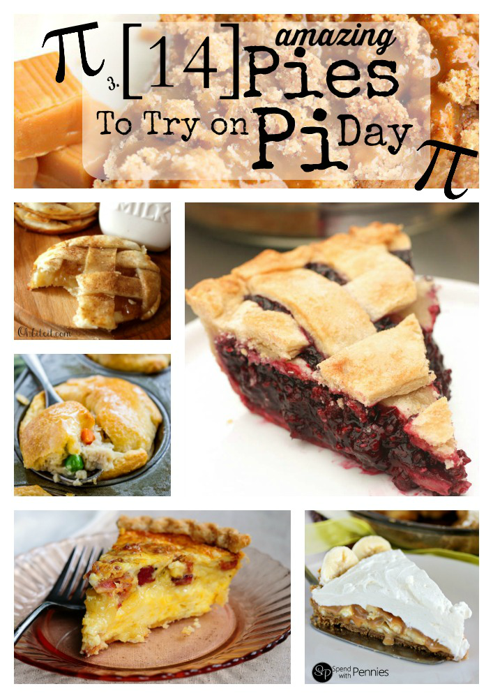 14 Pies to try on Pi Day