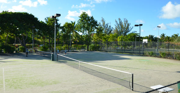 Jolly Harbour Tennis Court Image