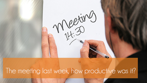 9 Golden Guidelines for a productive meeting II