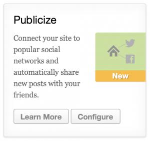 Jetpack Publicize Features