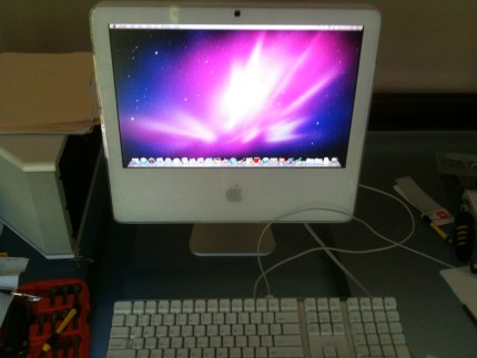 "iMac 17"" Intel LM171W02 lcd screen fixed"