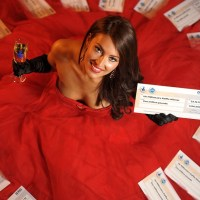 Miss York, Anastasia Smith, promoting EuroMillions lottery draw