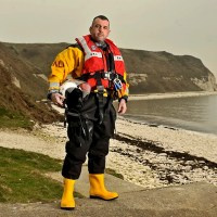 Story Portrait - Andy Lyne who lost 20 stone to join RNLI, North Yorkshire