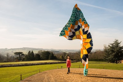 Sunny weather in Yorkshire Sculpture Park & Yinka Shonibare's new sculptures