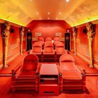 Stunning art deco home cinema, Ludhill House