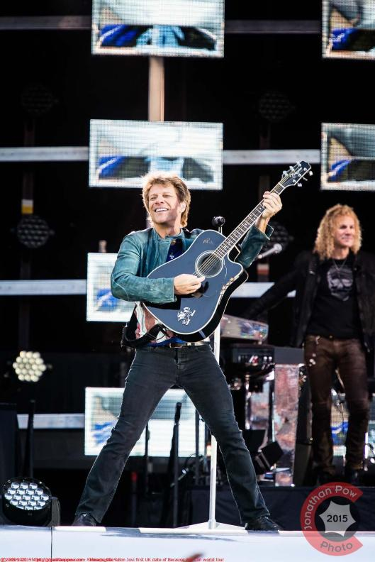 Manchester - Bon Jovi first UK date of Because We Can world tour