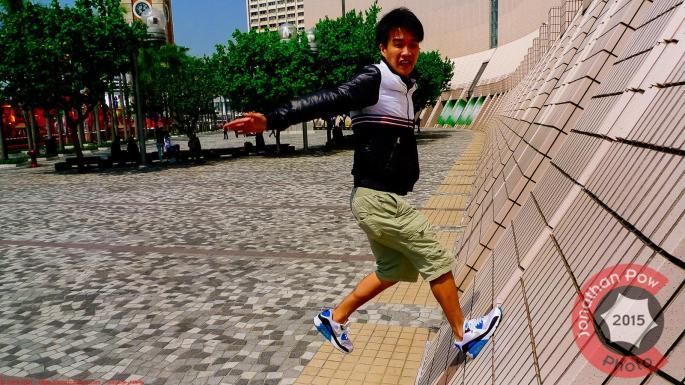 Bouncing off the walls, Hong Kong