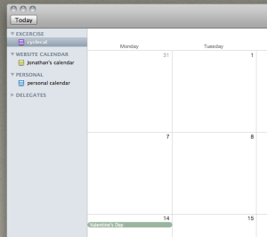 jonathans blog how to sync your google calendar and ical and stop your google calendars appearing as delegates in ical. updated.
