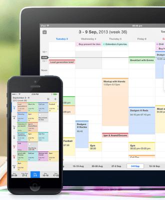 Calendars 5 screens