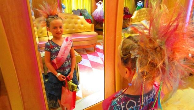 Bibbidi Bobbidi Boutique on the Disney Fantasy