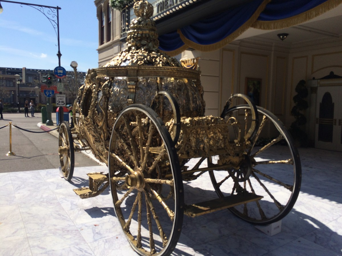 New Cinderella Coach and Starbucks at Disney's Hollywood Studios