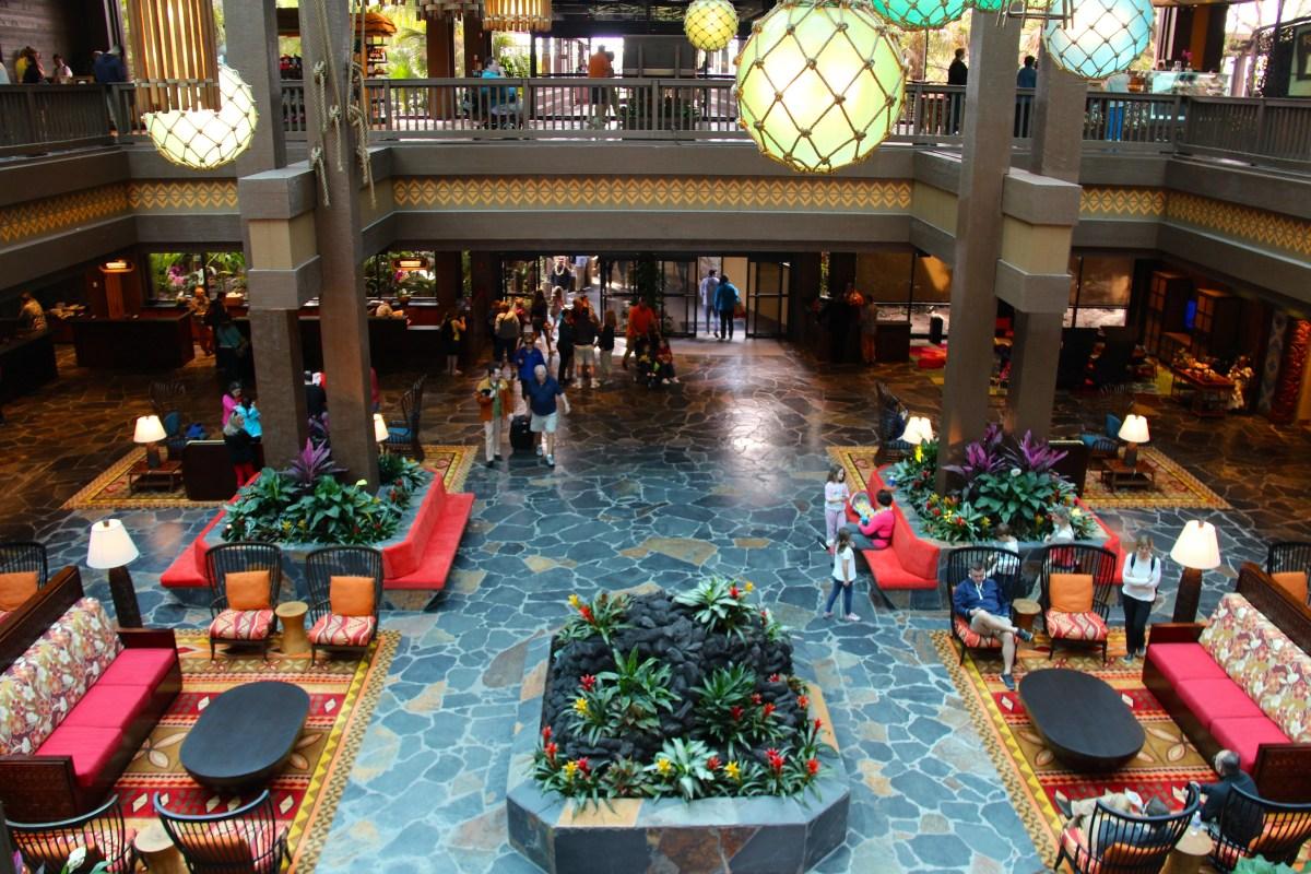 Construction Updates from Disney's Polynesian Resort