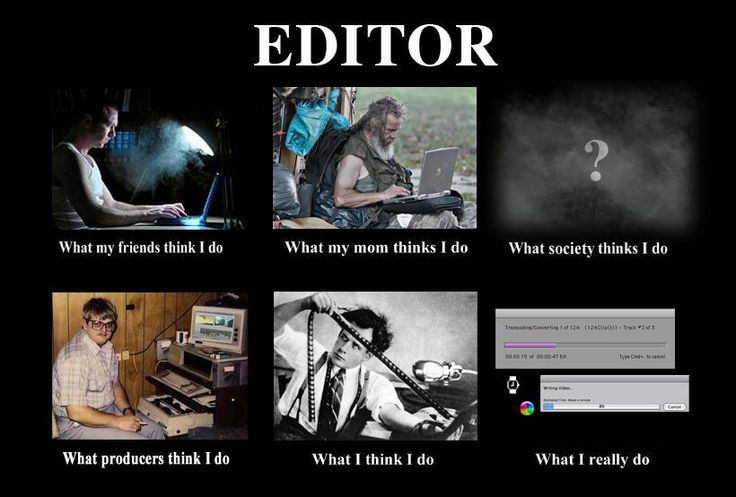 what a film editor actually does
