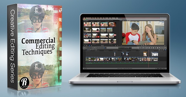 editing a commercial in fcpx