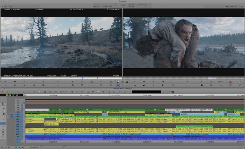 Editing The Revenant