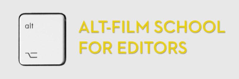 Alternative film school for editing