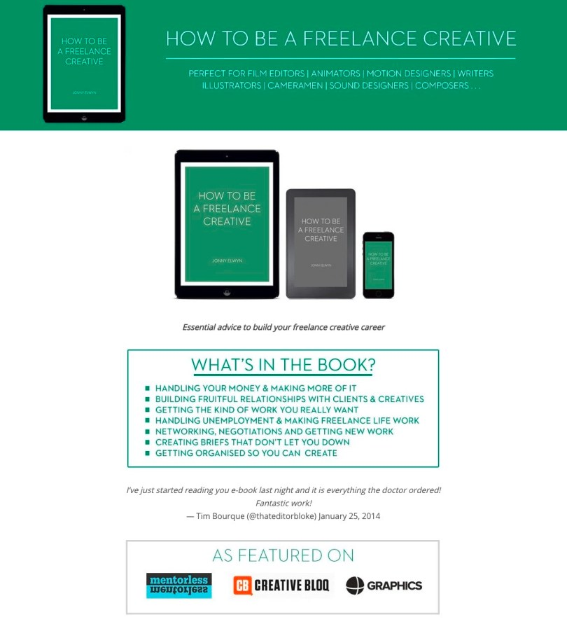 how to be freelance