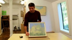 Unique A Painting By Artist Stuart Shils Making A Shadow Box Frame A Jersey How To Make A Shadow Box Out Making A Shadow Box Frame A Painting By Artist Stuart Shils How To Make A Shadow Box Paper