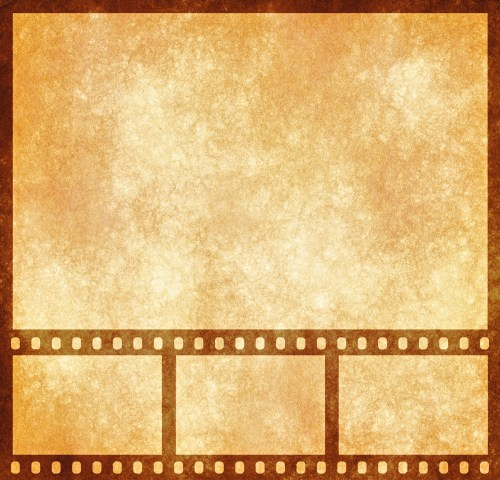 Medium Of Film Strip Template