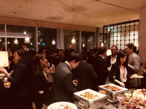 Networking Party at Oakwood, Tokyo