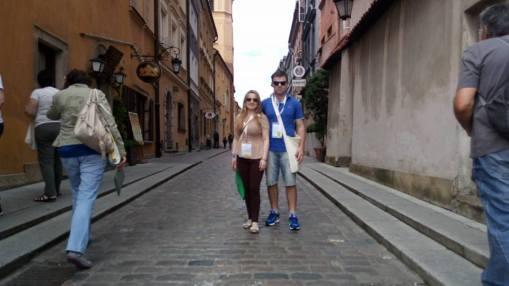 Passeio em Varsóvia- Polônia. Cidade Histórica.
