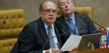 O ministro Gilmar Mendes, do Supremo Tribunal Federal, votou contra a proibição de empresas doarem para campanhas eleitorais (Fabio Rodrigues Pozzebom/Agência Brasil)