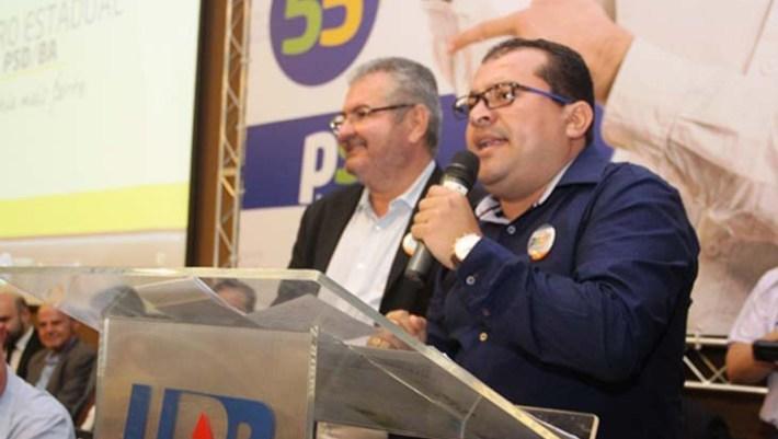 O prefeito Cafú do PSD - FOTO Calila Notícias