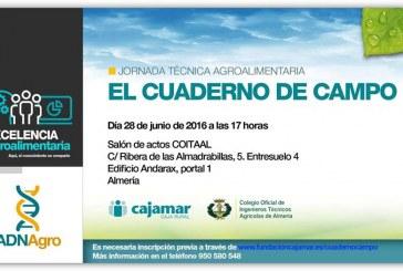 Día 28 de junio. Jornada 'El cuaderno de campo'. Almería