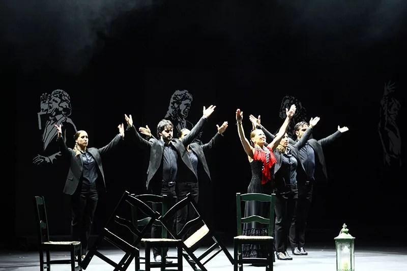 Sara Baras en el XXXIX edición del Festival de Teatro de El Ejido, Almería.