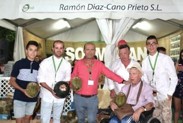Melones Ramón da nombre a la tercera generación de una familia de meloneros