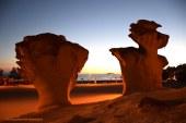 Atardeceres de noviembre en la Bahía de Mazarrón