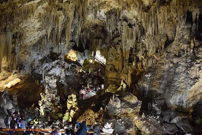 Las Cuevas de Nerja, Axarquía de Málaga.