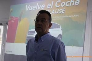 Javier Achón, técnico de desarrollo de pimiento de Clause.