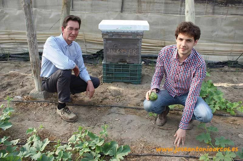 Ángel Juárez y Enrique Cat.
