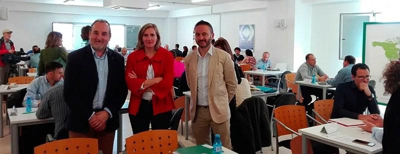 Encuentro Internacional de la Industria Auxiliar Agrícola en Almería.
