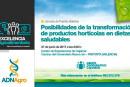 Día 27 de junio. Posibilidades de la transformación de productos hortícolas en dietas saludables
