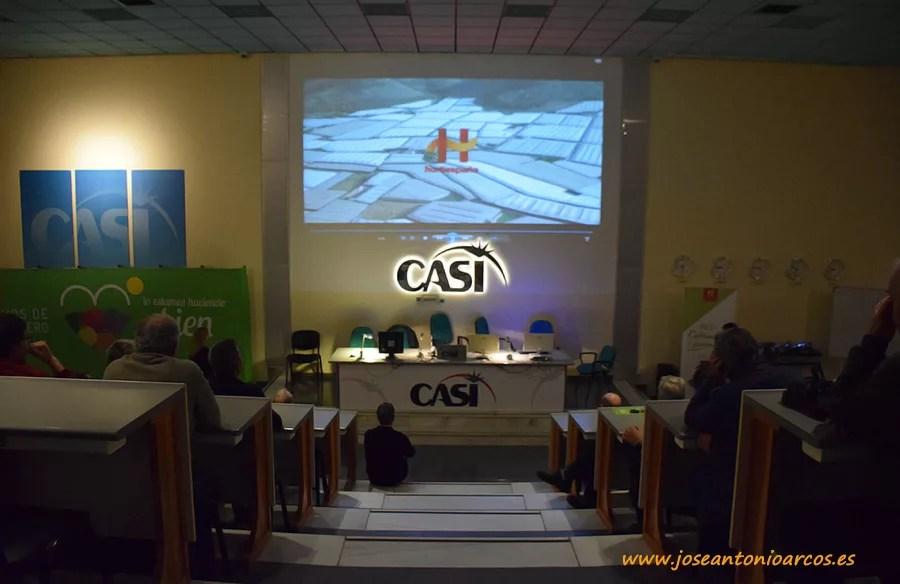 Presentación 'Lo estamos haciendo bien', campaña de promoción de la Interprofesional Hortiespaña. En la cooperativa CASI.