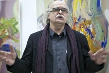 Josef Achrer zahajuje výstavu JUV