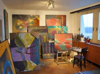 Josef Achrer atelier Praha Jeseniova