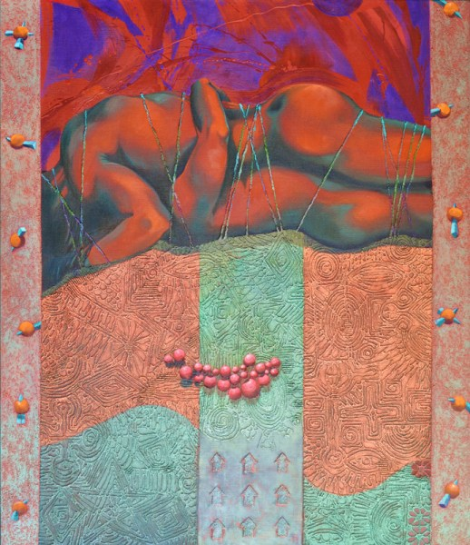Josef Achrer Na vrcholu 123 cm x 143 cm