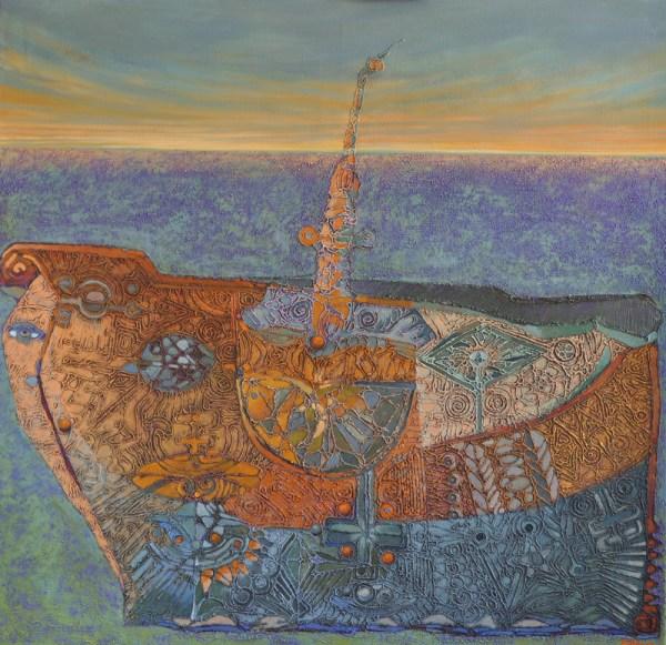 Josef Achrer Potopená loď