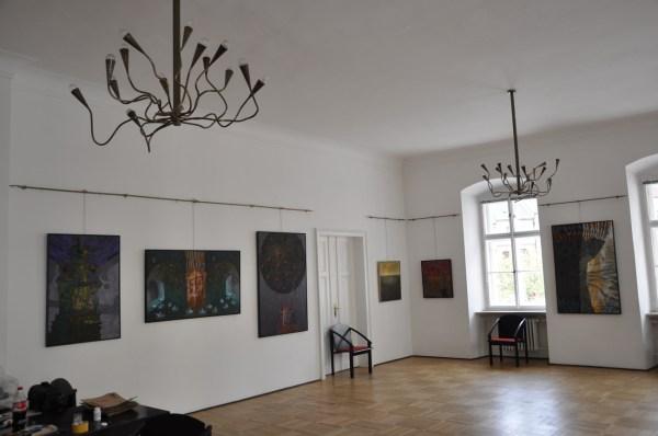 Josef Achrer výstava Peklo mlčí, Kutná Hora