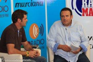 entrevista televisión murciana 2014